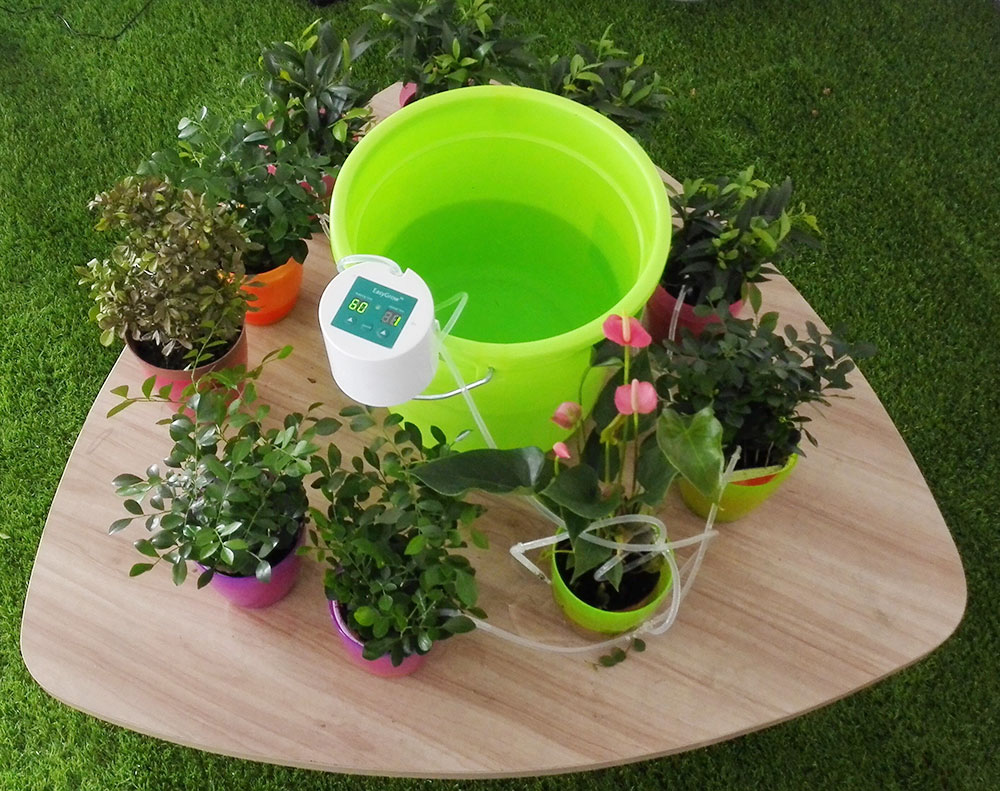 Система полива домашних цветов